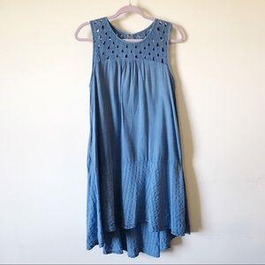 Vanessa Virginia    Hi-Low Peasant Style Dress